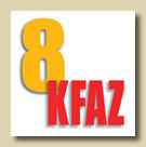 KFAZ Channel 8 Logo